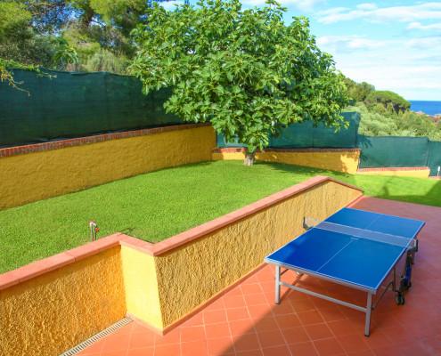 Ping Pong - Back of the villa